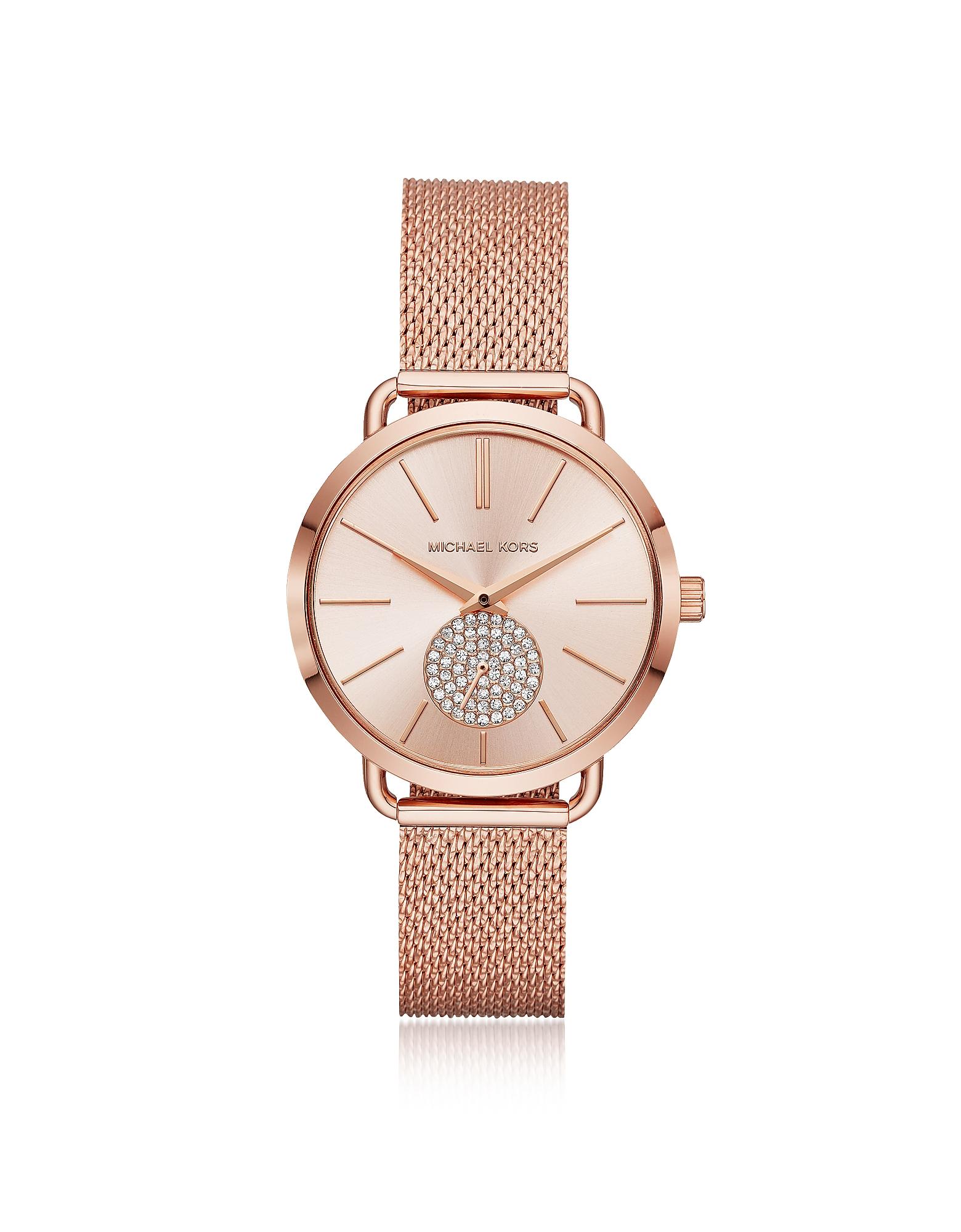 Michael Kors - Женские Часы Portia Оттенка Розового Золота