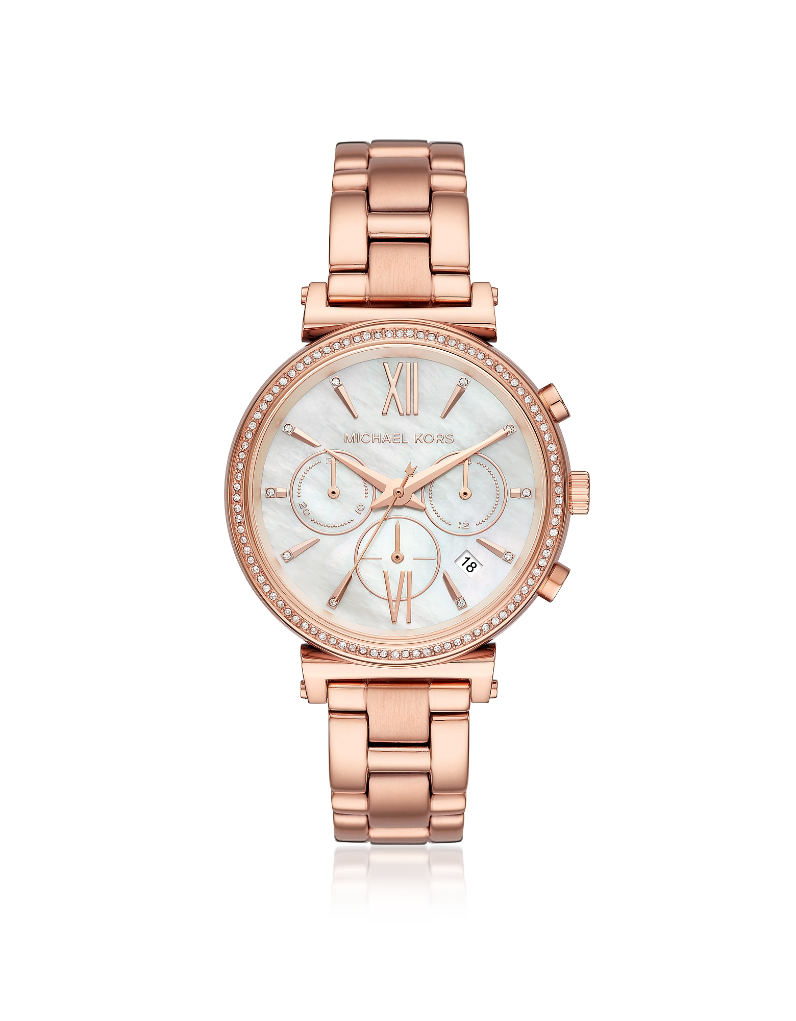 Michael Kors Women's Watches, Sofie Pavé Rose Gold Tone Women's Watch