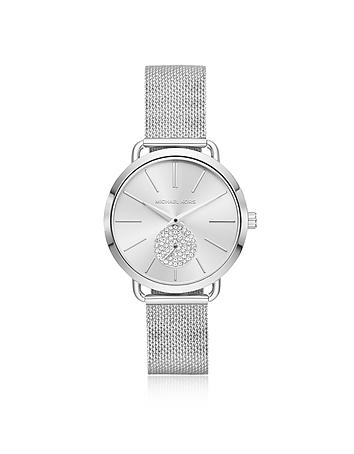 Michael Kors Ladies' Portia Stainless-Steel Watch