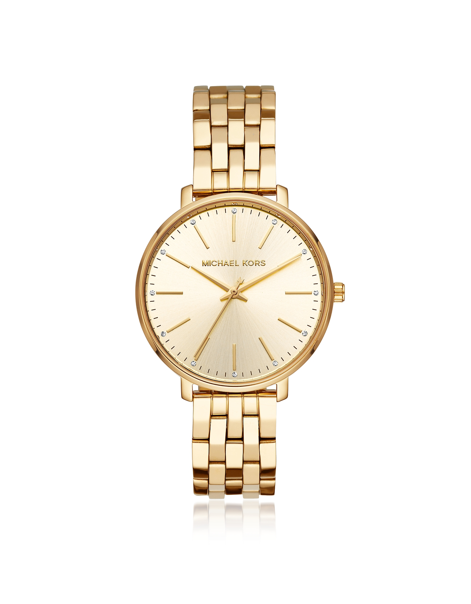 Pyper Gold Tone Watch