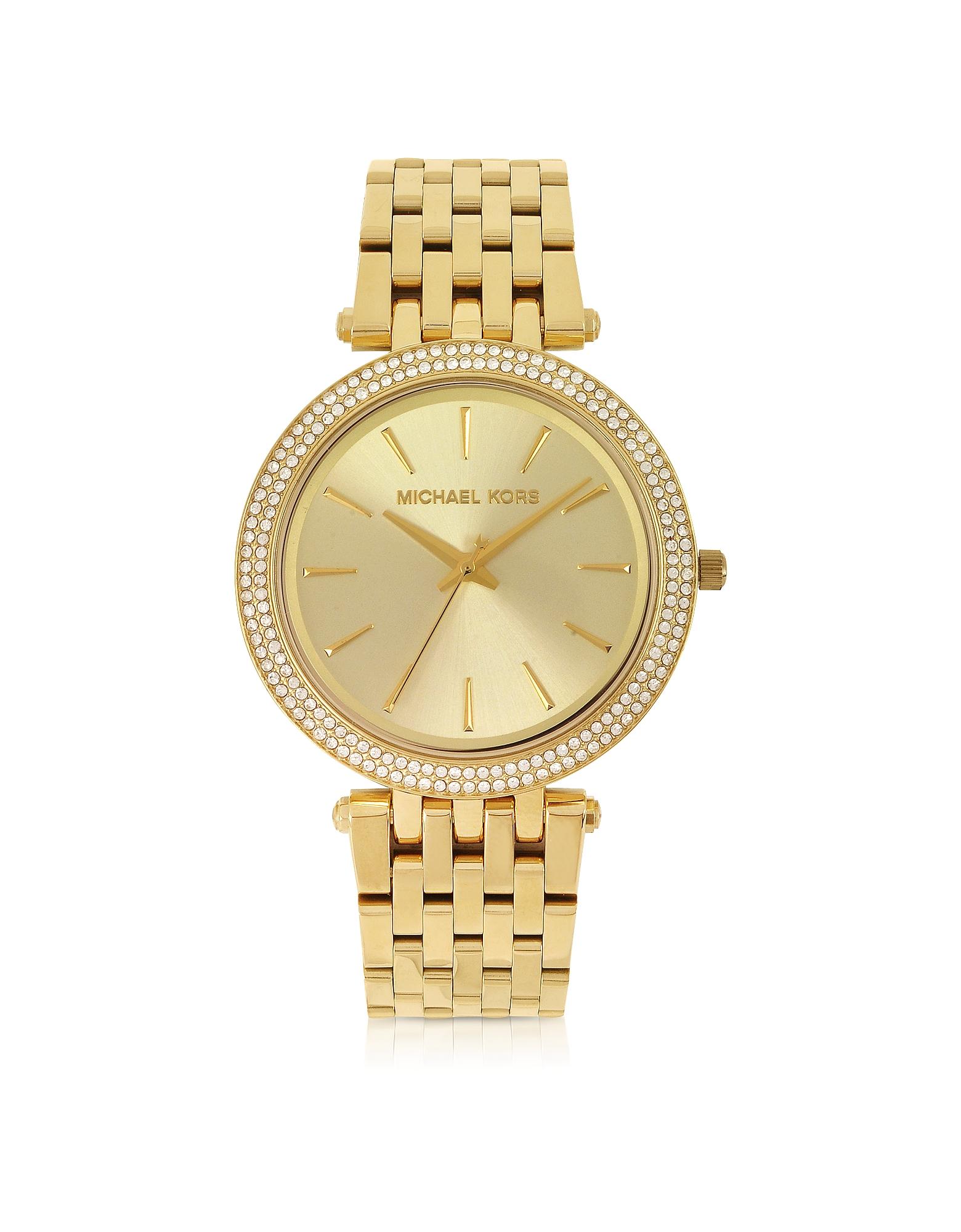 Darci - Золотистые Женские Часы из Нержавеющей Стали
