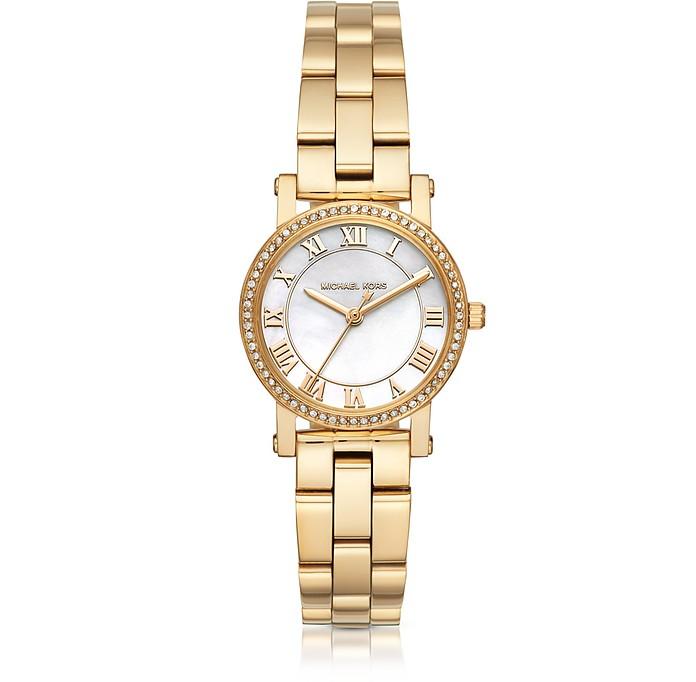 Petite Norie Gold-tone Stainless Steel Women's Watch - Michael Kors