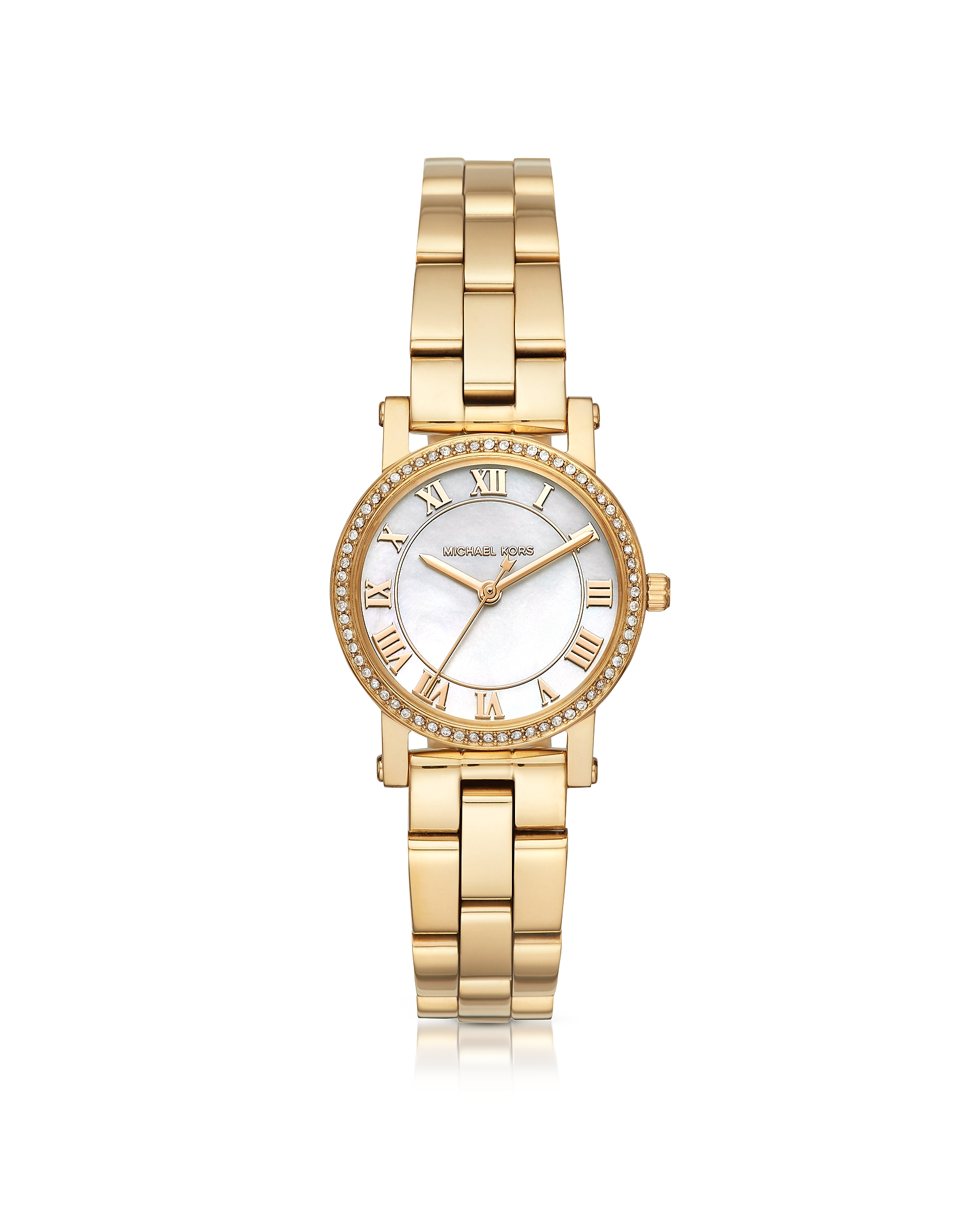 Michael Kors Designer Women's Watches, Petite Norie Gold-tone Stainless Steel Women's Watch