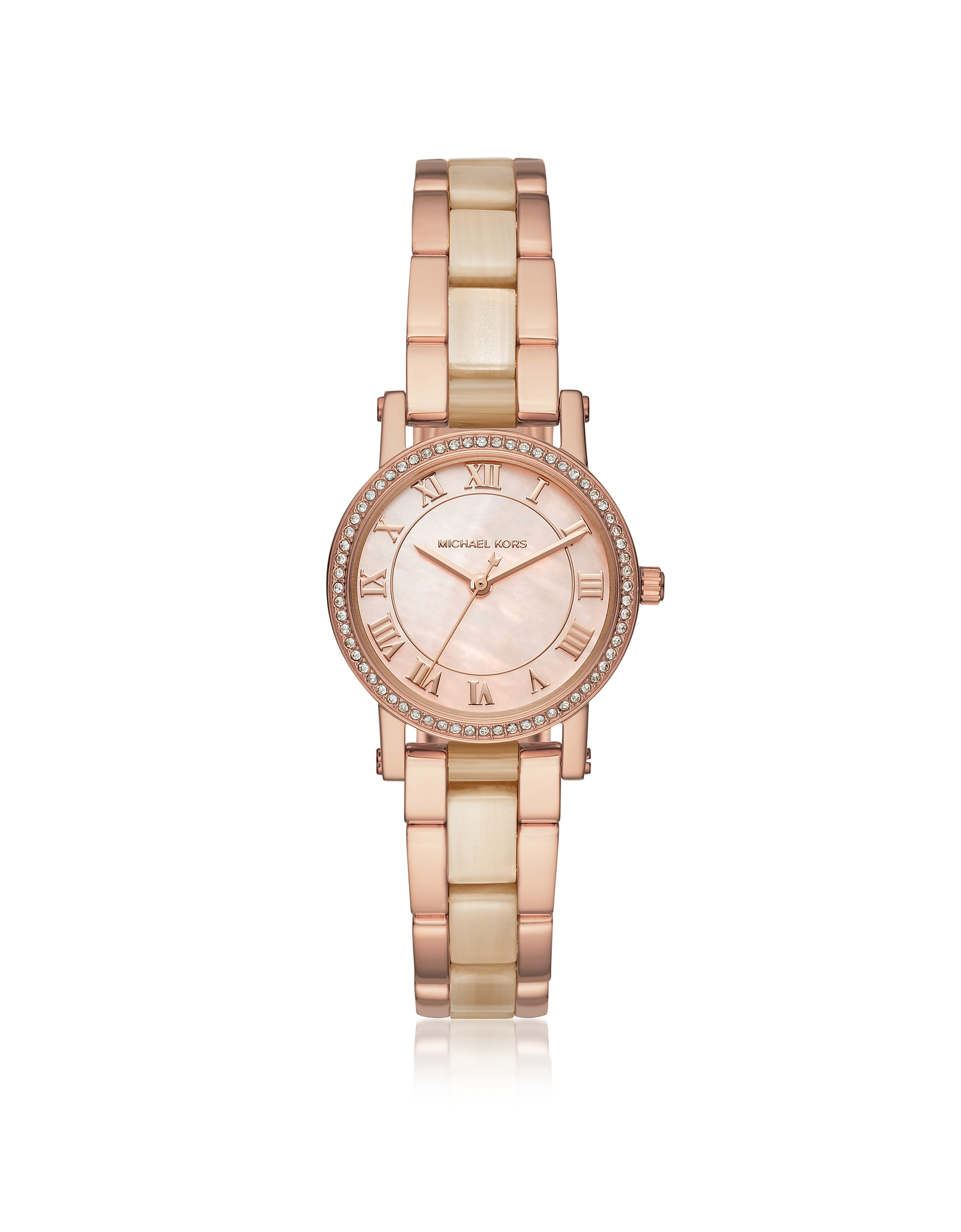 Michael Kors Women's Watches, Petite Norie Rose Goldtone Stainless Steel Women's Watch