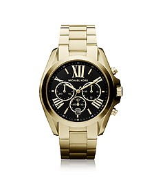 Bradshaw Goldtone Stainless Steel Women's Chronograph Watch - Michael Kors