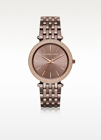 Darci PVD Plated Stainless Steel Women's Watch - Michael Kors