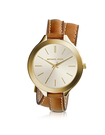Michael Kors - Slim Runway Double-Wrap Women's Watch