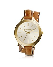 Slim Runway Double-Wrap Women's Watch - Michael Kors