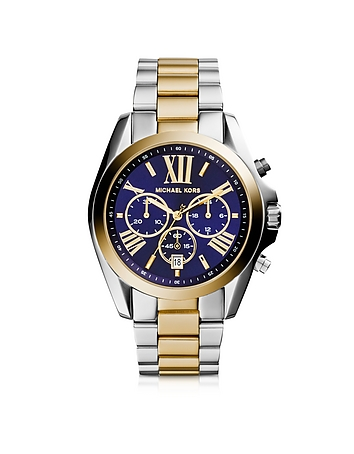 Michael Kors - Bradshaw Two Tone Stainless Steel Women's Watch