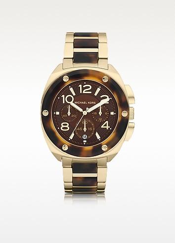 Mid-Size Tribeca Chronograph Watch - Michael Kors