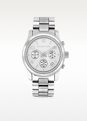 Runway Stainless Steel Women's Chronograph Watch - Michael Kors
