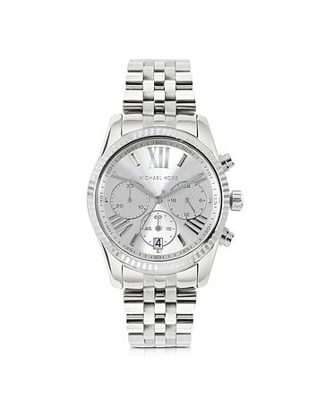 Michael Kors - Lexington Stainless Steel Women's Chronograph Watch