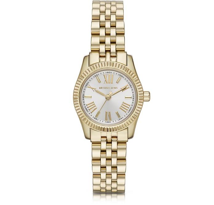 Petite Lexington Gold-Tone Stainless Steel Women's Bracelet Watch - Michael Kors