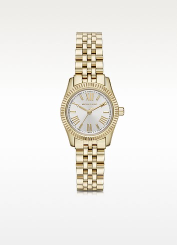 Petite Lexington Gold-Tone Stainless Steel Women's Bracelet Watch - Michael Kors