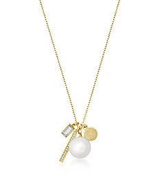 Brilliance Gold-tone Metal Charms Necklace - Michael Kors