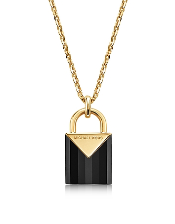 Kors Black Color Women's Necklace
