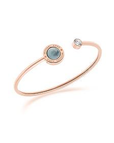 Logo PVD Rose Goldtone Stainless Steel Bracelet - Michael Kors