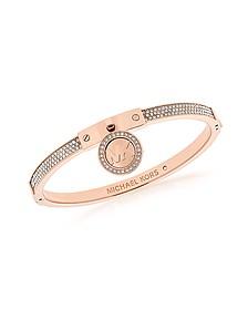 Heritage PVD Rose Goldtone Stainless Steel Bracelet - Michael Kors