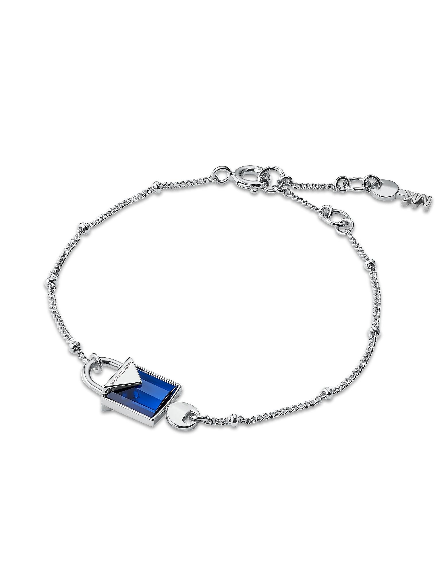 Mercer Sterling Silver Lock Bracelet Women's Bracelet