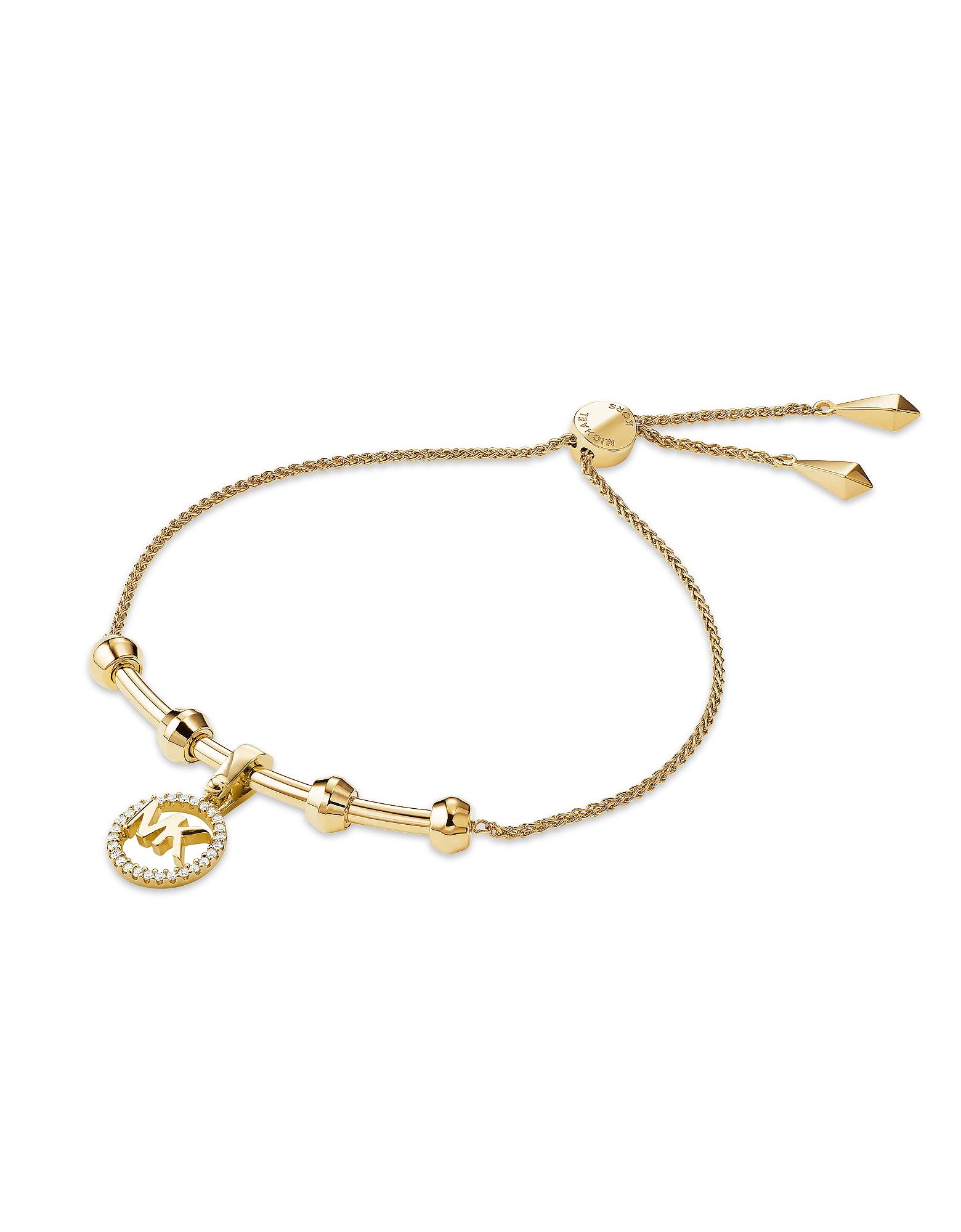 Custom Kors 14K Gold Plated Women's Bracelet