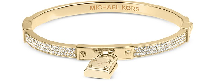 Brilliance Pave Bangle Bracelet - Michael Kors