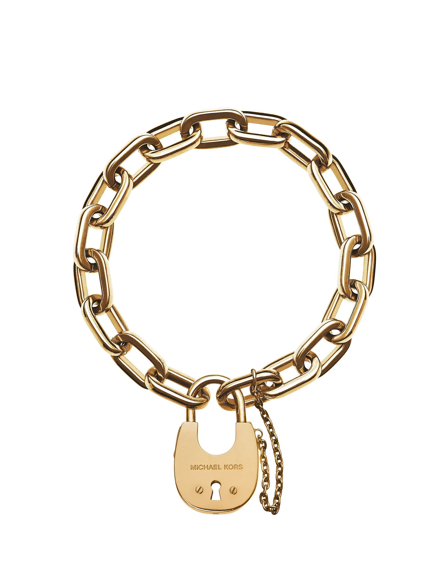 Chains & Elements - Золотистый Звеньевый Браслет