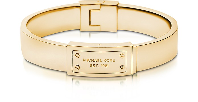 Heritage Signature Metal Bangle - Michael Kors