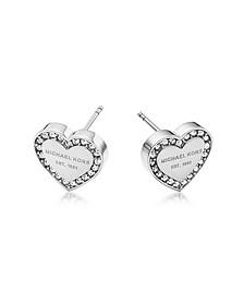 Heritage Ohrringe mit Herz und Kristallen - Michael Kors