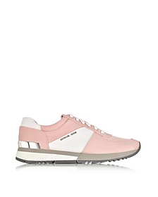 Allie Blossom Nylon and Saffiano Leather Sneaker - Michael Kors
