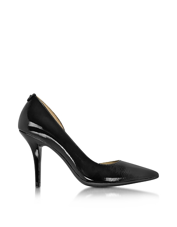Michael Kors - Natalie Black Patent Leather Flex High Heel Pump