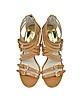 Ava Peanut Leather Sandal - Michael Kors