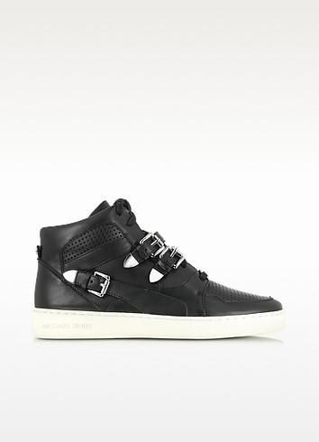 Robin High Top Leather Sneaker - Michael Kors