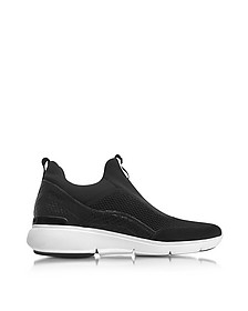 Ace Black Fabric Slip On Sneaker - Michael Kors