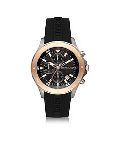 Walsh Stainless Steel Men's Chronograph Watch - Michael Kors