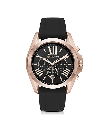 Michael Kors - Bradshaw Rose Goldtone Stainless Steel Men's Chronograph Watch