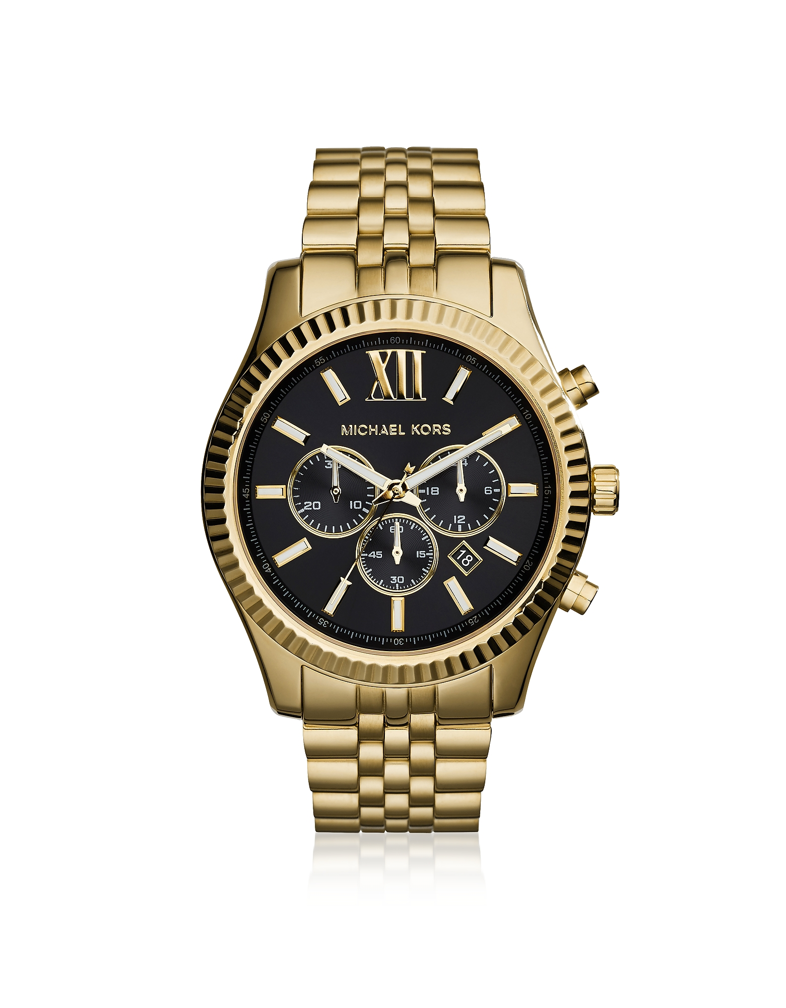 Lexington Gold Tone Chronograph Men's Watch