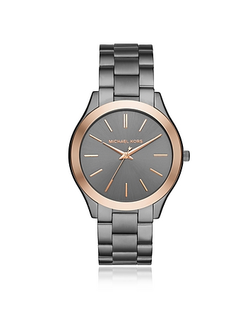 Grey Slim Runway Men's Watch