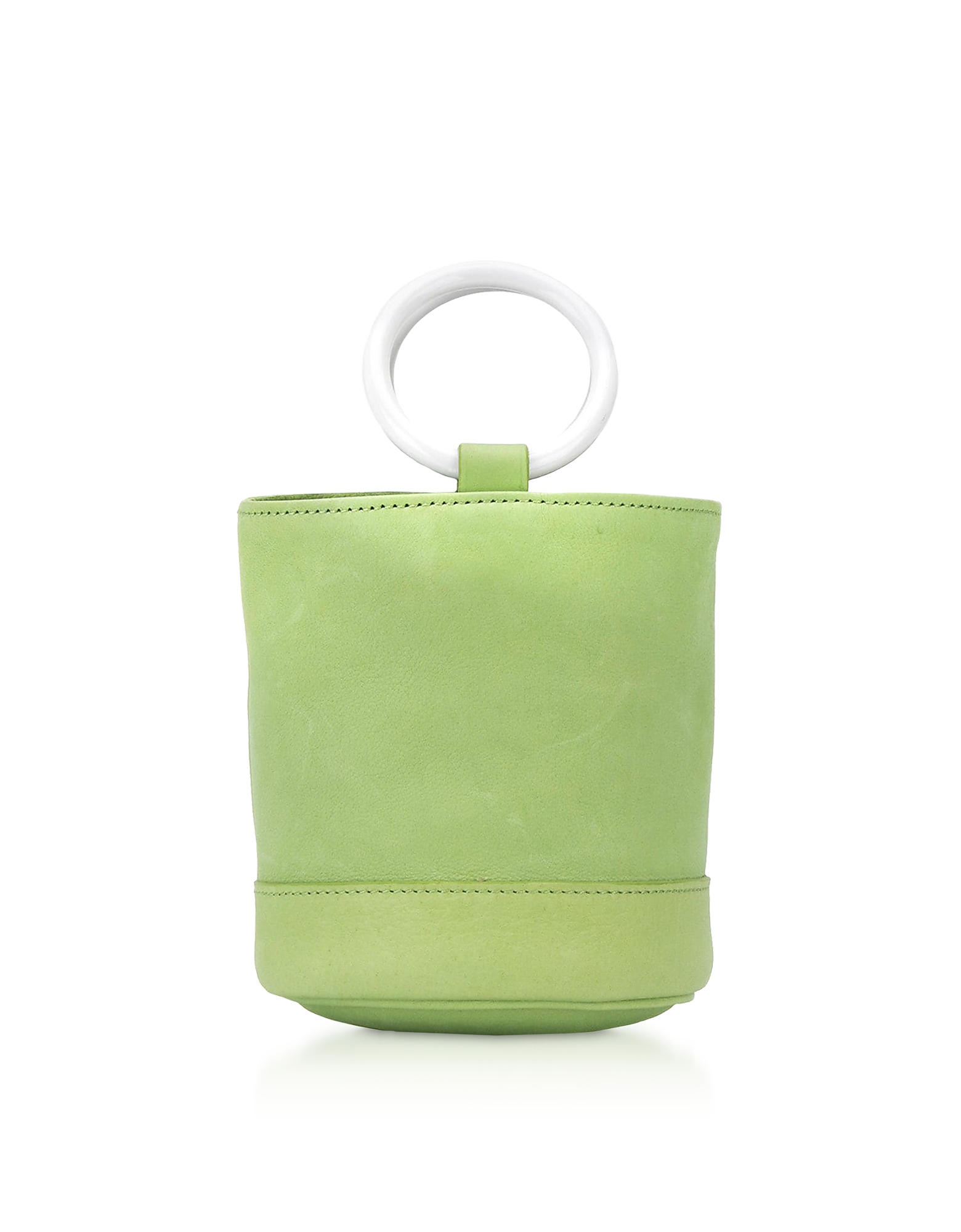 Lime Leather 15 cm Bonsai Bag