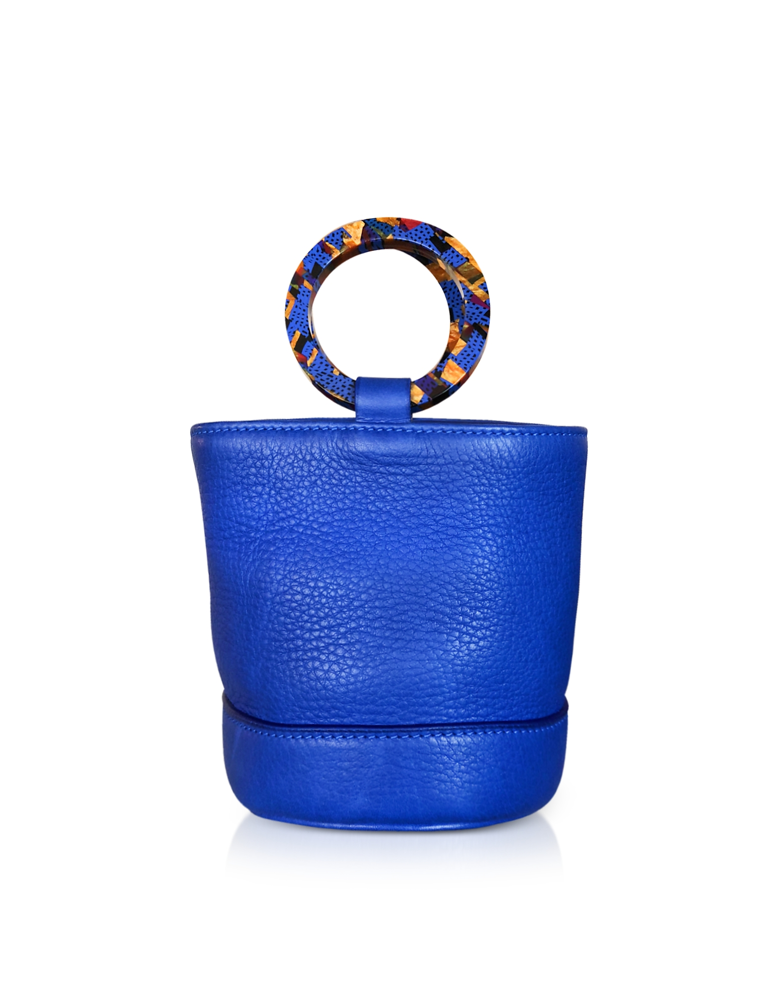Simon Miller Handbags, Cobalt Blue Leather Bonsai 15cm Bag
