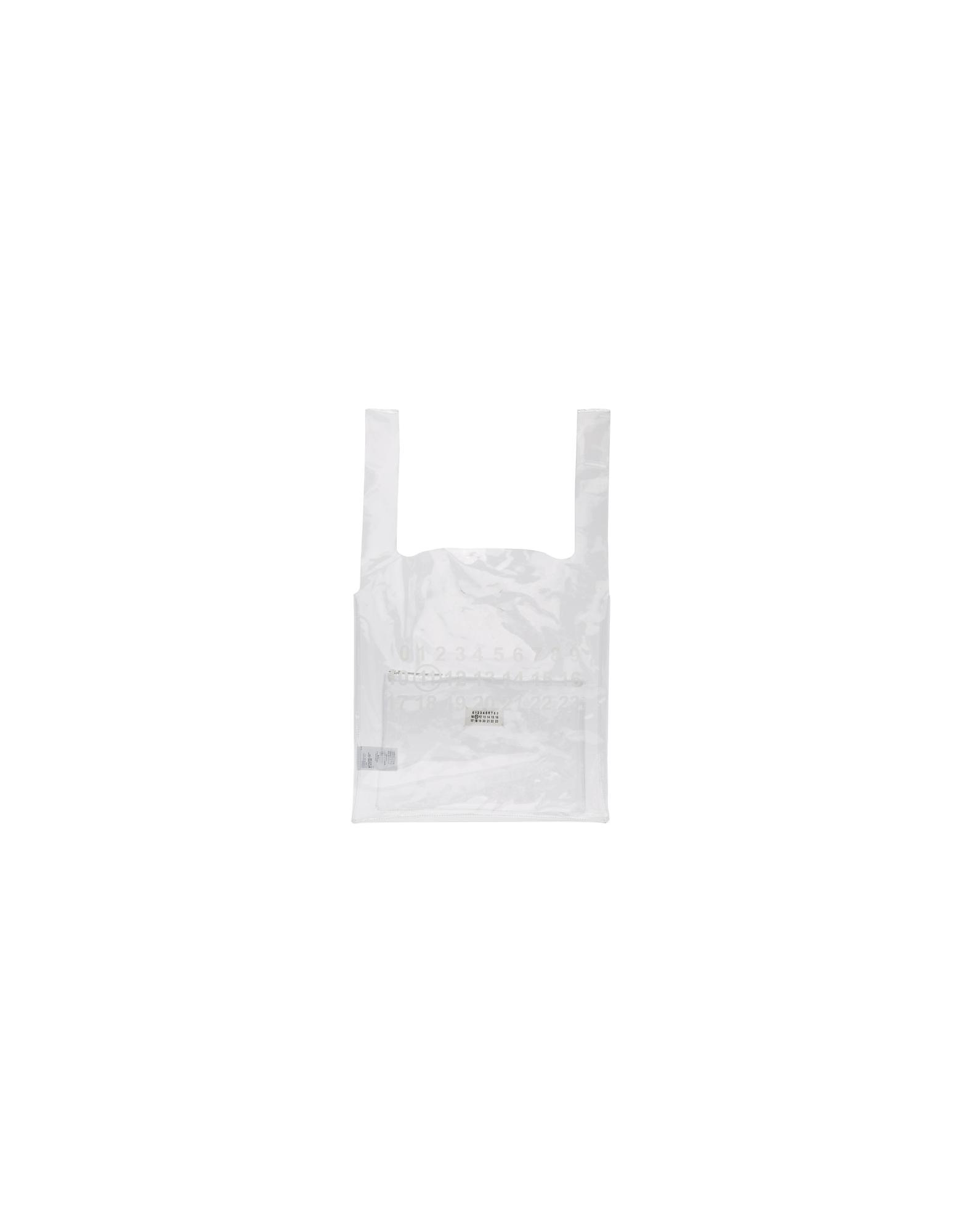 Maison Margiela Designer Handbags, Transparent Three Piece Plastic Tote