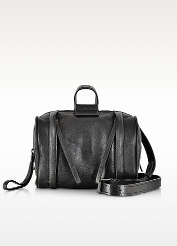Moto Metallic Barrel 18 Satchel Bag - Marc by Marc Jacobs