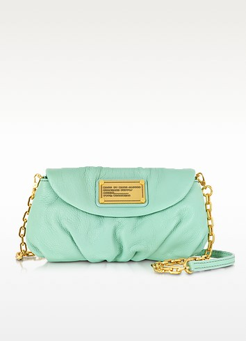 Classic Q Karlie Leather Mini Shoulder Bag - Marc by Marc Jacobs