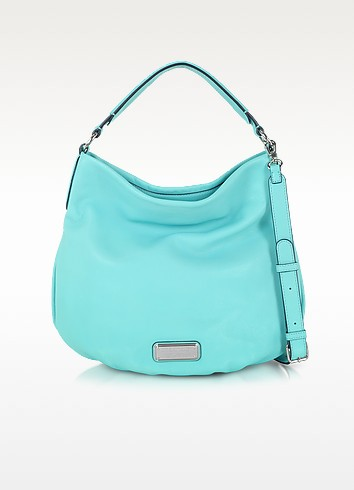 New Q Hillier Leather Hobo - Marc by Marc Jacobs
