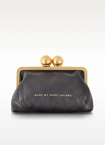 Framed Sophie Leather Clutch - Marc by Marc Jacobs