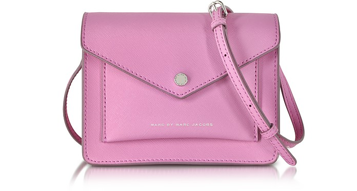 Metropoli Pink Bubblegum Crossbody Bag - Marc by Marc Jacobs