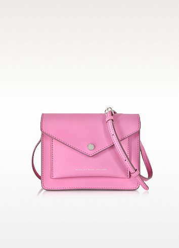 Metropoli Pink Bubblegum Crossbody Bag - Marc by Marc Jacobs