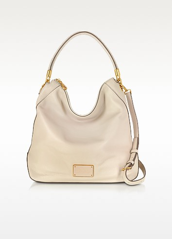 New Too Hot To Handle Papyrus Leather Hobo Bag - Marc by Marc Jacobs