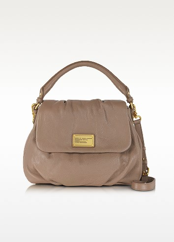 Classic Q Lil Ukita Light Brown Satchel Bag - Marc by Marc Jacobs
