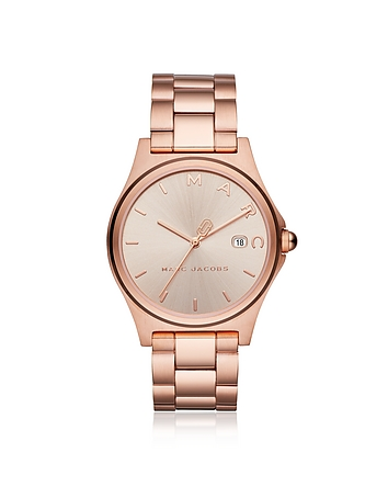 Marc Jacobs Henry Rose Gold Tone Women's Watch