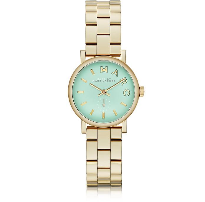 Baker Bracelet 28MM Gold IP Women's Watch - Marc by Marc Jacobs